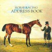 Cover of: Horse Racing Address Book | Mary Anne Wingfield