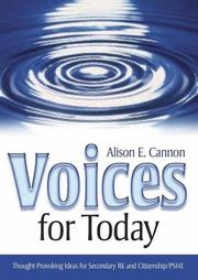 Cover of: Voices for Today | Alison E. Cannon