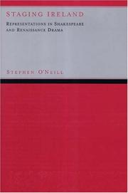 Cover of: Staging Ireland | Stephen O'neill