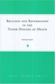 Cover of: Religion And Reformation in the Tudor Diocese of Meath | Brendan Scott