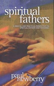 Cover of: Spiritual Fathers | Paul Newberry