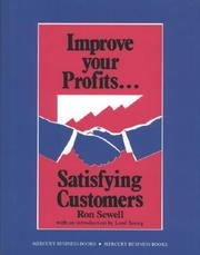 Cover of: Improve Your Profits | Ronald Sewell