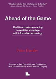 Cover of: Ahead of the Game | John Handby