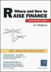 Cover of: Where and How to Raise Finance | A.J. Mckeon