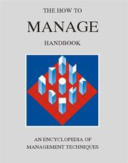 Cover of: The How to Manage Handbook | York Management Services