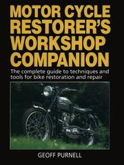 Cover of: Motorcycle Restorer's Workshop Companion by Geoff Purnell