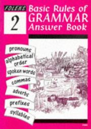 Cover of: Basic Rules of English Grammar | Claire Ancell
