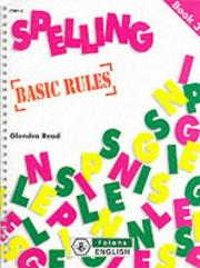 Cover of: Spelling Programme | Glendra Read
