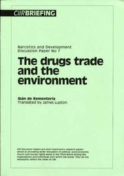Cover of: The Drugs Trade and the Environment | Iban De Rementeria