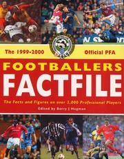 Cover of: Official Professional Footballers' Association Footballers' Factfile | Barry Hugman