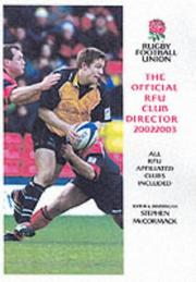 Cover of: The Official RFU Club Directory by Stephen McCormack