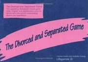 Cover of: The Divorced And Separated Game (Lifegames) | JESSICA KINGSLEY