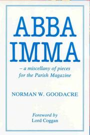 Cover of: Abba Imma | Norman W. Goodacre