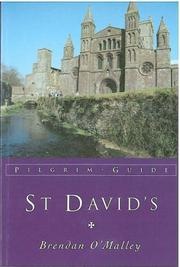 Cover of: St. David's (Pilgrim Guides) | Brian Brendan O'Malley