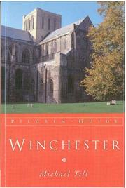 Cover of: Winchester (Pilgrim Guides) | Michael Till