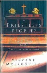 Cover of: A priestless people? by Vincent McLaughlin