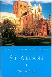 Cover of: St. Albans (Pilgrim Guides) | Bill Ritson