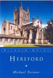 Cover of: Hereford (Pilgrim Guides) | Michael Tavinor