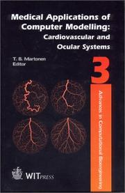 Cover of: Medical Applications of Computer Modelling | T. B. Martonen