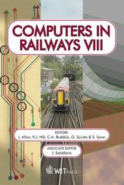Cover of: Computers in Railways VIII (Advances in Transport) | International Conference on Computers in Railways 2002 Myrina