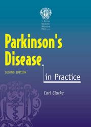 Cover of: Parkinson's Disease in Practice (In Practice) | Carl E. Clarke