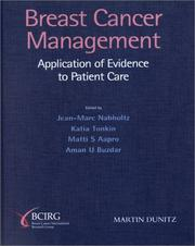 Cover of: Breast Cancer Management | J. Nabholtz