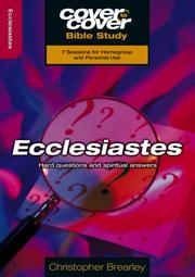 Cover of: Ecclesiastes (Cover To Cover) | Chris Brearley
