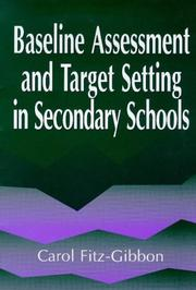 Cover of: BASELINE ASSESS MONITORING SEC SCH | Car Fitz-Gibbon
