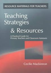 Cover of: Teaching Strategies and Resources | Cecilie Mackinnon