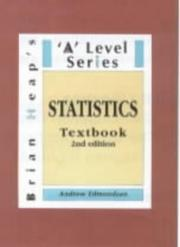 Cover of: Statistics ('A' Level) by Andrew Edmondson