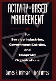 Cover of: Activity-based management by James A. Brimson