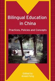 Cover of: Bilingual Education in China | Anwei Feng
