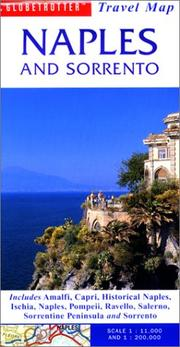 Cover of: Naples & Sorrento Travel Map | Globetrotter