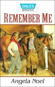 Cover of: Remember Me | Angela Noel