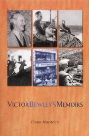 Cover of: Memoirs of Victor Bewley | Victor E.H. Bewley
