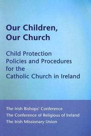 Cover of: Our Children, Our Church | Irish Bishop's Conference