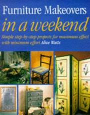 Cover of: Furniture Makeovers | Alice Watts
