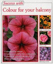 Cover of: Colour for Your Balcony (Success with Gardening) | Macbride