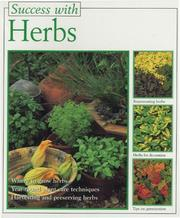 Cover of: Success with Herbs (Success with) | Christine Becht