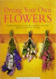 Cover of: Dried Flowers (Mini Workbook) | Christine M Fraser