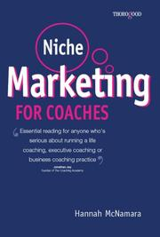 Cover of: Niche Marketing for Coaches | Hannah McNamara