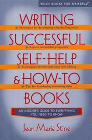 Cover of: Writing and selling a successful self-help book by Jean Stine