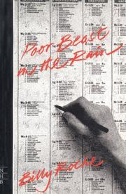 Cover of: Poor Beast in the Rain | B. Roche