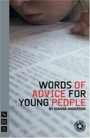 Cover of: Words Of Advice For Young People | Ioanna Anderson