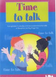 Cover of: Time to Talk by Alison Schroeder