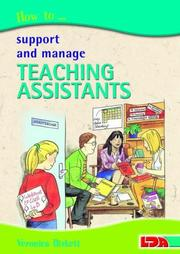 Cover of: How to Support and Manage Teaching Assistants | Veronica Birkett