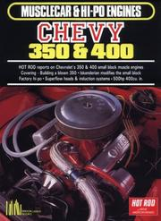 Cover of: Chevy 350 and 400 (Musclecar and Hi-Po Engine Series) | R. M. Clarke