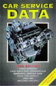Cover of: Car Service Data 1998 | Colm O'Dwyer