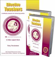 Cover of: Effective Teachers (The School Effectiveness Series) | Tony Swainston