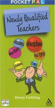 Cover of: Newly Qualified Teachers | Henry Liebling
